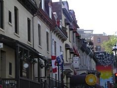 Scenic pictures I took on my trip to my hometown, Montreal.