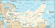 Russia Map with Cities - Free Pictures of Country Maps Russia Map, Siberia Russia, Hiroshima, Lago Baikal, Country Maps, World Geography, Thinking Day, By Train, Saint Petersburg