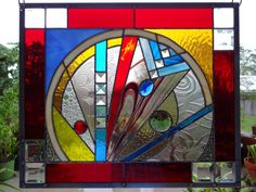 "Stained Glass Window Panel: ~~~ ""DayBreak"""