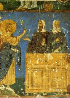 Христос, Каиафа и Анна деталь суда Пилата