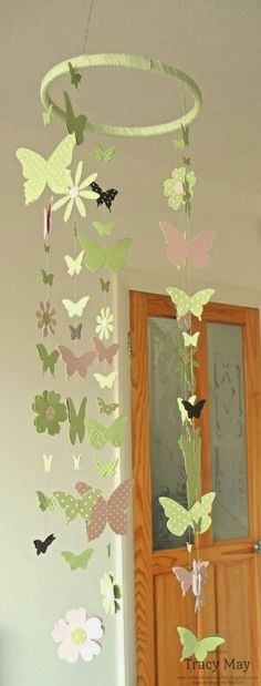 """Stampin' Up! UK - Spring is in the air!  1/2"""" circle punch, Beautiful Butterflies Bigz, Beautiful Wings Embosslits, Bitty Butterfly punch, Blossom Party Originals, Elegant Butterfly Punch, Itty Bitty Shapes Punch Pack"""