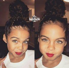 Alanna - 4 Years • Puerto Rican, Filipino, Italian & African American ❤ FOLLOW @beautifulmixedkids on instagram
