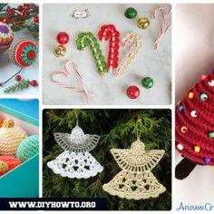 DIY Crochet Christmas Ornament Free Patterns N Instructions