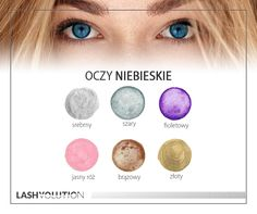 Oczy niebieskie - kolory, które do nich pasują. #oczy #makijaż #kolory #cienie #oczyniebieskie #inspiracje Beauty Make-up, Beauty Hacks, Hair Beauty, Makeup Goals, Makeup Tips, Hair Makeup, Makeup Lessons, Skin Routine, Eye Make Up