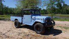 Check out this 1974 #Toyota Land Cruiser FJ45 for #ThrowbackThursday #TBT