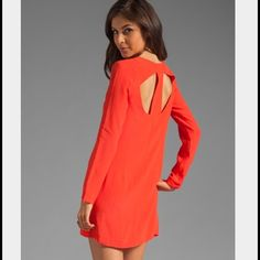 """'Something Else' dress Super cute 'T' back dress. 100% rayon, 33"""" shoulder to hem, side zip. Button detail at shoulder with back cut outs. Great, versatile dress that can be dressed up or down! Perfect for a wedding or anything that calls for cocktail attire. Something Else by Natalie Wood Dresses"""