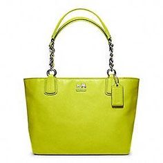 Coach :: Madison Leather Tote