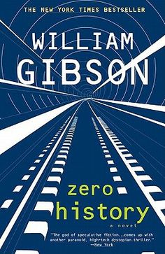 Zero History by William Gibson. The final book in the trilogy. Awesome books and fantastic character development. Super smart.