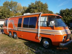 Just have to love the orange :-) - 1974 GMC Classic Motorhome