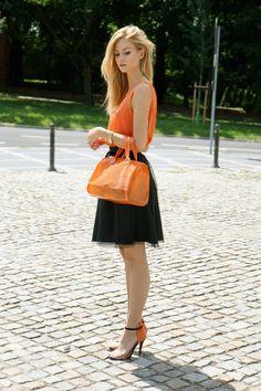 Orange  #Tanks #Totes #Skirts