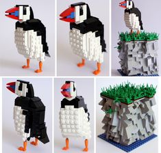 British Birds Made of LEGO expertly crafted series of birds found in Britain by Thomas Poulsom.