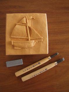 DanielBZ: Balsa-foam relief carving