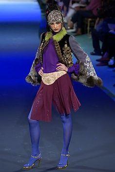 Christian Lacroix Fall 2003 Couture Fashion Show - Christian Lacroix, Ana Mihajlovic