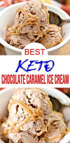 Easy Ice Cream Recipe, Making Homemade Ice Cream, Cream Recipes, Keto Desserts, Keto Snacks, Desserts Caramel, Keto Foods, Snack Recipes, Dessert Recipes