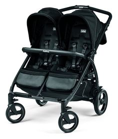 Peg Perego Book for Two Double Stroller - Onyx