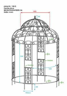 Industrial Design Furniture, Metal Furniture, Furniture Design, Garden Gazebo, Iron Decor, Pergola, Design Ideas, Outdoor Structures, Mirror