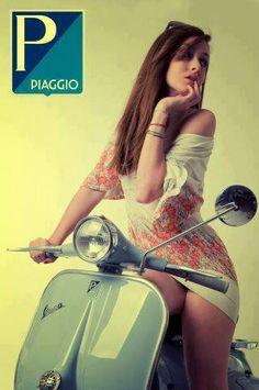 scooter girl..#jorgenca