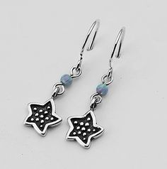 Hot Silver Earrings Dangle 3mm Round Beads Opal Jewelry Vintage 100% Solid Fashion for Women Shablool Didae