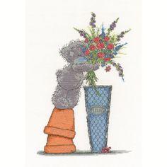 Fresh Bouquet Me to You Bear Cross Stitch Kit  £26.99
