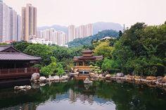 #nanliangarden #chinesegarden #hongkong #pavilion #lake #garden #carp #pond #travel #instapassport #instagood #instatravel #nomsandrambles #nomsandramblestravels