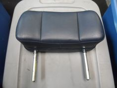 Need to check Driver Head Rest Measurements - for Alternative Head REst - but Prefer Panel Screen mounts   83 Rolls Royce Silver Spirit OEM Front Left OR Right SIDE Head - Rest BLUE 81-91