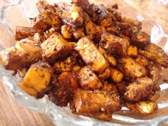 Blackened Tofu. Amazingly Delicous! You gotta try it!!