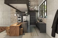 Cutest and practices industrial kitchens ideas