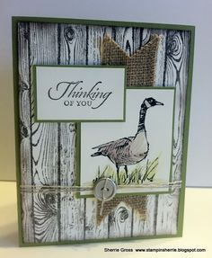 Stampin Sunshine: Wetlands on the Hardwood