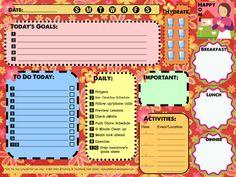 Organized Mom = Happy Home {Daily Organizer Free Printable}