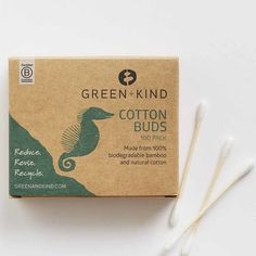These cotton buds are compostable and made from sustainable bamboo sticks with a natural cotton tip. Perfect for make up removal and a multitude of other everyday uses. At Official Stockist Flora & Fauna. Craft Packaging, Paper Packaging, Product Packaging, Makeup Beauty Box, Crochet Bedspread Pattern, Plastic Free July, Bud, Lip Balm, Really Cool Stuff