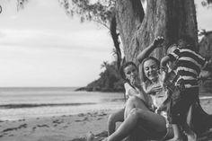 Sessão de fotos - Lea e Domingos com os filhos
