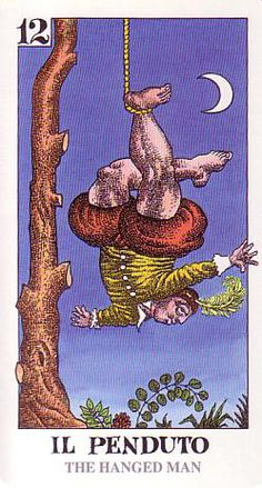 The Hanged Man - Tarocco Bizzarro