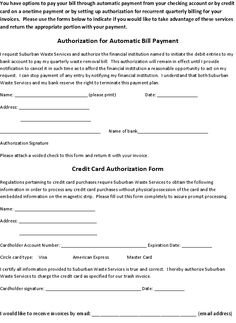 Pin By Brian Spectar On Credit Card Authorization Form