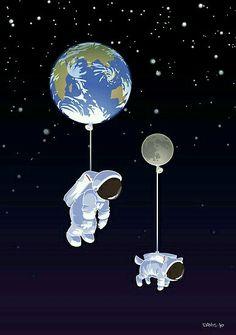 Mascota espacial