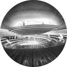 Galeria de Anunciados os vencedores do Concurso Rome Concrete Poetry Hall - 21