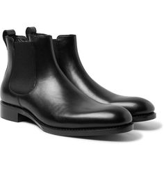 Salle PrivÉe Walter Leather Chelsea Boots In Black Tom Ford T Shirt, Tom Ford Jeans, Tom Ford Jacket, Men's Shoes, Shoe Boots, Dress Shoes, Smooth Leather, Black Leather, Leather Chelsea Boots