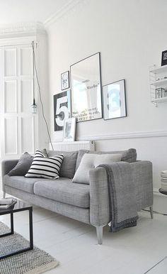 grey living room design idea