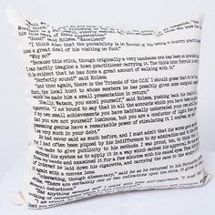 Sherlock Holmes Pillow Cover