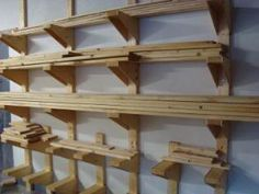 How to Make a Workshop Lumber Rack