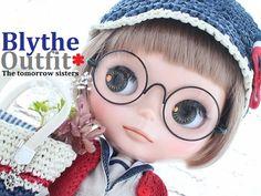 ◆Blythe Outfit◆ブライス♪マリンコーデ8点set NO.48_画像1