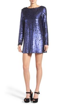 MINKPINK 'Great Escape' Scoop Back Sequin Dress available at #Nordstrom