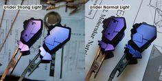 Mr Crystal Color (Pearl Color) Effect on Gundam Model