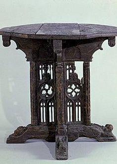 Folding Table France, ca. 1480-1500