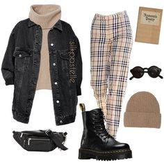Fall Fashion Outfits, Mode Outfits, Cute Casual Outfits, Look Fashion, Stylish Outfits, Winter Outfits, Swag Fashion, 2000s Fashion, Swag Outfits