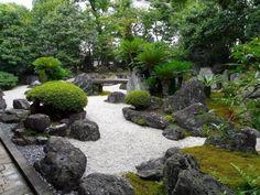 30 Amazing Modern Japanese Garden Design Ideas (for Home, Office, etc. Modern Japanese Garden, Japanese Garden Landscape, Portland Japanese Garden, Japanese Gardens, Zen Gardens, Contemporary Garden, Zen Rock Garden, Zen Garden Design, Landscape Design
