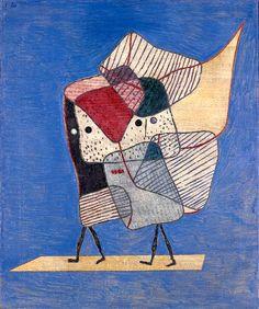 Paul Klee, Zwillinge, 1930, 128. Ölfarbe auf Leinwand, 60,6 x 50,8 cm. Kazumasa KATSUTA, Gallery K. AG, Schweiz