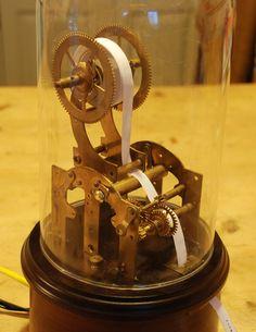 Twittertape: Old-Timey Steampunk Twitter Machine That Prints Tweets #technology #socialmedia