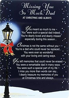 Loving Memory Christmas Graveside Memorial Card - Missing You Dad x Miss You Dad Quotes, Dad Quotes From Daughter, Mom And Dad Quotes, Self Love Quotes, Miss My Daddy, I Miss You Dad, Fathers Day In Heaven, Dad In Heaven, Dad Poems