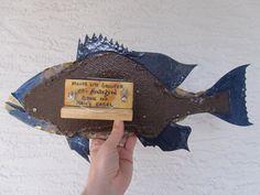 Miller Light Bottlecap Fish Metal Grouper Fish Wall by EricsEasel