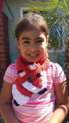 Ravelry: Friendly Critters Scarf pattern by Crocheted Crafts by Dani